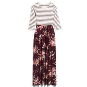 Lux & Co Bernice 2fer Maxi Dress Large Stitch Fix